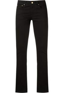 Amapô Calça Jeans Skinny - Preto