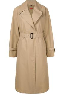 Des Prés Belted Trench Coat - Marrom