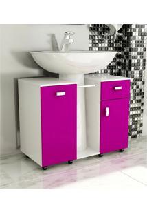 Gabinete De Banheiro Due Violeta Tomdo