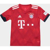 Camisa Bayern De Munique Infantil Home 2018 S N° - Torcedor Adidas -  Masculino ae83ef171e0b0