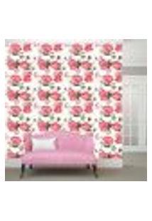 Papel De Parede Adesivo - Rosa - Flores - Floral - 303Ppf