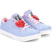 559b928962a Netshoes. Tênis Infantil Klin Jeans Coração Baby Gloss Street ...