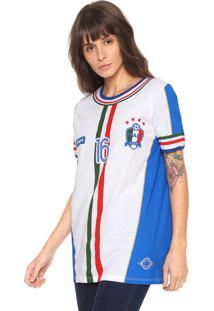 Camiseta My Favorite Thing(S) Itália Branca/Azul