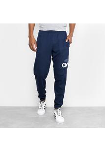 Calça Moletom Adidas Ess Lgo T Sj Masculino - Masculino-Azul