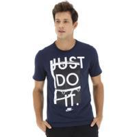 Camiseta Nike Sportswear Jdi+ 1 - Masculina - Azul Escuro 72a37229ce152