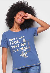 Camiseta T-Shirt Cantão Classic Cage Feminina - Feminino