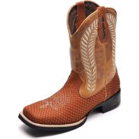 Bota Country Bico Quadrado Top Franca Shoes Havana   Whisk 56b8350cafc
