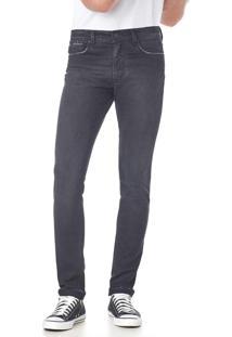 Calça Jeans Convicto Slim Black Stone