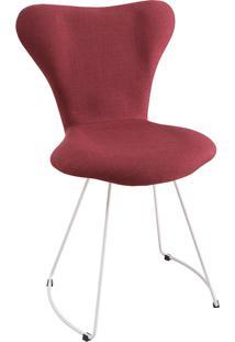 Cadeira Jacobsen Meia Lua T1076-Daf Mobiliário - Marsala