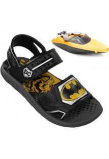 Sandália Infantil Grendene Batman Boat
