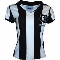 fdae712573 Camisa Liga Retrô Pepe 1963 Listrado - Feminino
