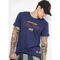 b85b05b1e Camiseta New Era Nba Cleveland Cavaliers Starry Halo Masculina - Masculino -Marinho