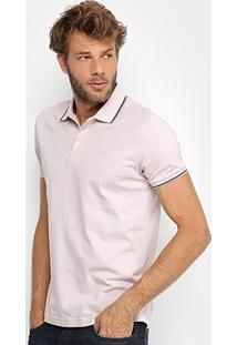 Camisa Polo Ellus Piquet Frisos Clássica Masculina - Masculino e2ce7c345edf3