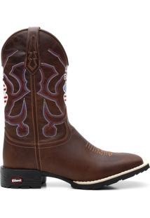 Bota Texana Craz Horse Live Boot Bico Quadrado - Masculino