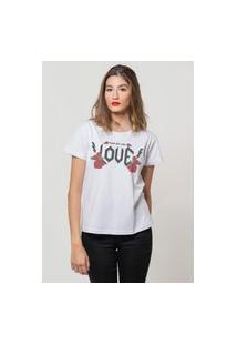 Camiseta Jay Jay Basica Who Do You Love Branca Dtg