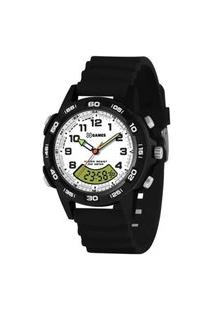 Relógio Xgames Xmppa311 De Pulso Analógico Digital Masculino Preto