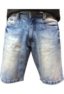 Bermuda Jeans Hocks Masculina - Masculino-Azul