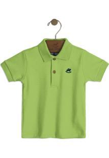 Camisa Up Baby Infantil Verde