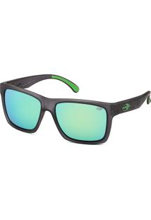 Óculos De Sol Espelhado Mormaii San Diego Cinza Chumbo Fosco E Verde e9520c6361