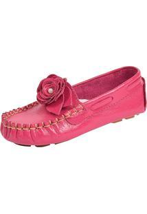 0c43b8b7cd Mocassim Bb Calçados Infantis Menina Couro Verniz Pink