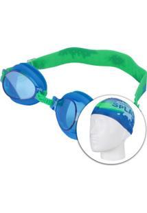 Centauro. Kit De Natação Speedo Splash Com Óculos ... 3be2c7ae52