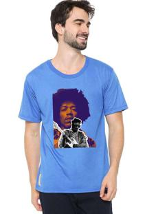 Camiseta Masculina Eco Canyon Rock Azul Blue