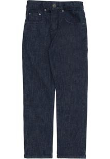 Calça Jeans Vr Kids Menino Lisa Azul-Marinho