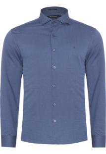 Camisa Masculina Bis - Azul