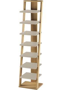 Prateleira Stairway Marrom Claro