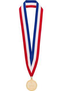 Y-3 Colar 'Medalha' - Azul