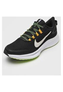Tênis Nike Runallday 2 Preto/Verde