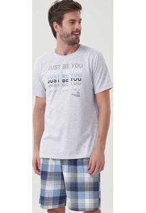 Pijama Masculino Just Be 30054 Cor Com Amor