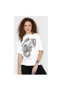 Camiseta Colcci Caxiú Branca