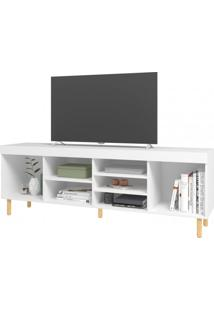 Rack Para Tv Com 7 Nichos Blc 64 Linha Easy - Brv Móveis Blc 64 Blc64