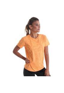 Camiseta Feminina Cores - Laranja - Praaiah