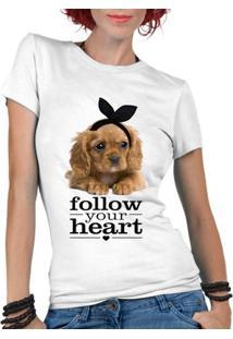 Camiseta Criativa Urbana Pet Lover Frases - Feminino-Branco