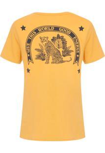 Camiseta Feminina Susan - Amarelo