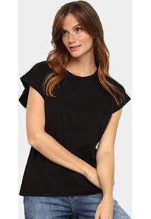 Camiseta Forum Básica Lisa Feminina - Feminino