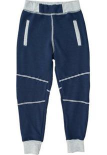 Calça Infantil Comfy Jogger Masculino - Masculino-Marinho