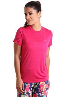 Camiseta Basic Em Energy - Rosa - Liquido