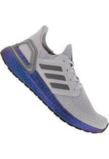 Tênis Adidas Ultraboost 20 - Feminino - Cinza Cla/Cinza