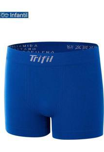 Cueca Boxer Trifil Ce 0641 Infantil 05J8-Azul-Klei