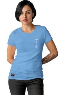 Camiseta Cellos Vertical Premium Azul Claro