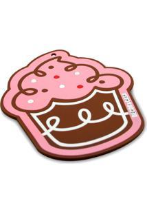 Toalha De Mesa 6 Lugares, 8 Porta Copos E Descanso De Mesa - Cupcake