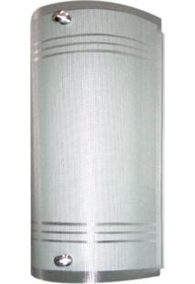 Arandela Boreal Vidro 1 Lâmpada Attena
