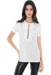 Camiseta My Favorite Thing(S) Recorte Branca