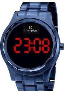 Relógio Champion Digital Feminino - Feminino-Azul