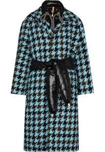 Moncler Casaco Rineke De Tweed 1952 - Azul