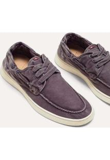 Tenis Top Sider Canvas Reserva Marrom