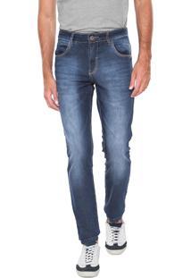 Calça Jeans Polo Wear Skinny Premium Azul c3e110a3d52bb
